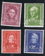 1949 Dez. Wohlfahrt Mi DE 117- 20 Sn DE B310 - 13 Yt DE 3 - 6 Sg DE 1039 - 42 AFA DE 1080 - 83 Un DE 3  - 6 X - BRD