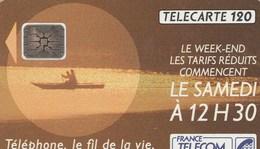 TELECARTE 120... TELEPHONE,LE FIL DE LA VIE - France