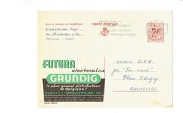 Publibel 2243F- GRUNDIG - 0212 - Stamped Stationery