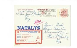 Publibel 2302F - NATALYS - 0215 - Stamped Stationery