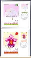 K1288- Pakistan 2016, Joint Issue With Singapore. Flowers. Jasmine. Vanda Miss Joaquim. - Joint Issues