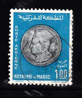 Marokko 1969 Mi Nr 648 , Munt Koning Mohammed V - Marokko (1956-...)