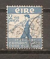 Irlanda-Eire Yvert Nº 59 (usado) (o) - 1937-1949 Éire