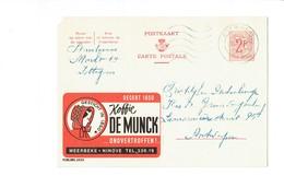 Publibel 2033 - KOFFIE DE MUNCK - 0220 - Stamped Stationery