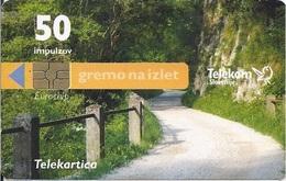 SLOVENIA - GREMO NA IZLET - MEJNA REKA INDRIJA - Slovénie
