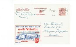 Publibel 1984 - VITALAC - 0222 - Stamped Stationery