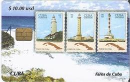 CUBA - FAROS DE CUBA 1 - LIGHTHOUSE - STAMP - Cuba