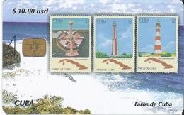 CUBA - FAROS DE CUBA 2 - LIGHTHOUSE - STAMP - Cuba