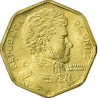 Monnaie, Chile, 5 Pesos, 2005, Santiago, TTB, Aluminum-Bronze, KM:232 - Chile