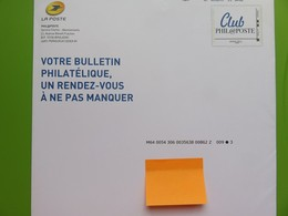 PAP - Entier Postal - Club Phil@poste - Philaposte - Monde 250 G - Destinéo - 25.06.17 - Postwaardestukken