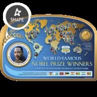 Djibouti 2019, Nobel Prize, Martin Luther King, BF - Martin Luther King