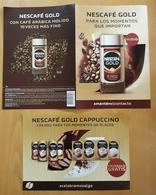 NESCAFÉ GOLD CAPPUCCHINO. - Publicidad