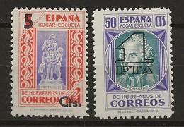 R04.G4/ SPAIN BENEFICIENCIA 27/28, MNH ** - Wohlfahrtsmarken