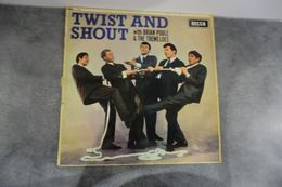 Disque - Brian Poole & The Tremeloes - Twist And Shout - DECCA LK 4550 - 1963 - Rock