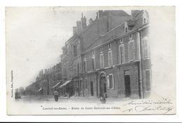 70 - LUXEUIL-LES-BAINS - ROUTE DE SAINT-SAUVEUR-AU-CHENE - Ttimbre Taxe - Luxeuil Les Bains