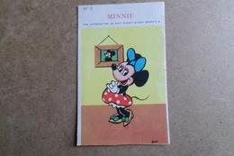 MINNIE - Walt Disney - Publicité Cadum - Dessin Animé ( Image, Chromos ) - Vieux Papiers