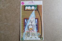 DONALD Et Ses NEVEUX - Walt Disney - Publicité  Dessin Animé ( Image, Chromos ) - Vieux Papiers