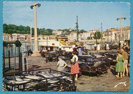 SAINT-JEAN-DE-LUZ - Le Débarquement Du Thon - Carte Circulé 1968 - Saint Jean De Luz