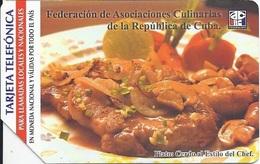 CUBA - CULINARIAS - PLATOS - Cuba