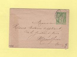 Aramon - Gard - 31 Dec 1900 - Type Sage - Marcophilie (Lettres)