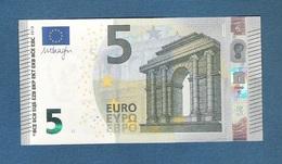 ITALIA -EURO - 2013 - BANCONOTA DA 5 EURO FIRMA DRAGHI  SERIE SC (S006A4) - NON CIRCOLATA (FDS-UNC) - OTTIME CONDIZIONI. - 5 Euro