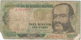 Perú 1.000 Soles De Oro 1-2-1979 Pk 118 1 Ref 5 - Peru