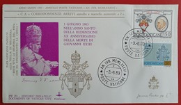 VATICANO VATIKAN VATICAN PAPA GIOVANNI XXIII IL BUONO XX Anniversario Della Morte ANNO SANTO 1983 - Vatican
