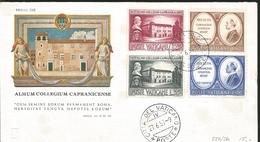 J) 1957 VATICAN CITY, UNIVERSITY NOURISH CAPRANICENSE, WITH THEIR OFFSPRING GOOD INHERITANCE, AND THEIR CHILDREN, MULTIP - Vatican