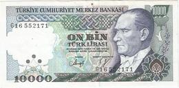 Turquía - Turkey 10000 Lirasi 1982 Pk 199 C Ref 1 - Turquia