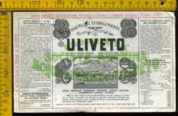 Etichetta Acqua Minerale Uliveto Vicopisano PI - Altri