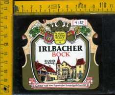 Etichetta Birra  Irlbacher Bock  Germania - Birra