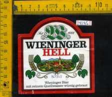 Etichetta Birra Wieninger Hell - Germania - Birra