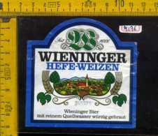 Etichetta Birra Wieninger Hefe-Weizen - Germania - Birra