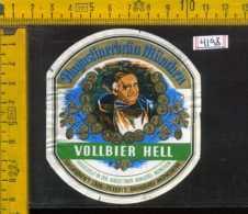 Etichetta Birra Egerer Vollbier Hell - Germania - Birra