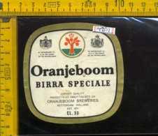 Etichetta Birra Oranjeboom Birra Speciale  - Olanda - Birra