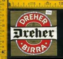 Etichetta Birra  Dreher-Pedavena BL - Birra
