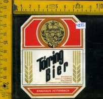 Etichetta Birra Toerring Export Hell - Germania - Birra