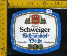 Etichetta Birra Schweiger-Schmankert Weise - Germania - Birra