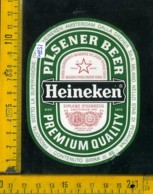 Etichetta Birra Heineken Pilsener Beer - Olanda - Birra