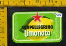 Etichetta Bibita Limonata Sanpellegrino - Etichette
