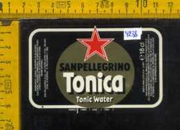 Etichetta Bibita Acqua Tonica Sanpellegrino - BG - Etichette
