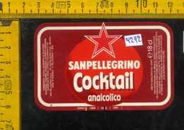 Etichetta Bibita Cocktail Analcolico Sanpellegrino - BG - Etichette