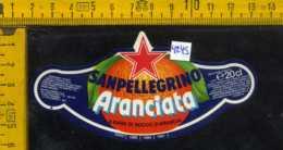 Etichetta Bibita Aranciata Sanpellegrino - BG - Etichette