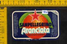 Etichetta Bibita Aranciata Sanpellegrino - BG - Altri