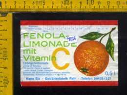 Etichetta Bibita Analcolica Fenola Limonade - Germania - Etichette