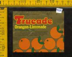 Etichetta Bibita Analcolica Orangen-Limonade Trucade - Germania - Altri