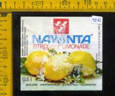 Etichetta Bibita Analcolica Zitronen-Limonade Nawinta - Germania (difetto) - Altri