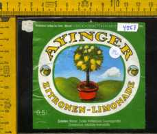Etichetta Bibita Analcolica Zitronen-Limonade Ayinger Goldperl - Germania - Altri