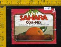 Etichetta Bibita Analcolica Cola Mix-Sahara - Germania (difetto) - Etichette