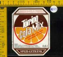 Etichetta Bibita Analcolica Cola Mix Toerring - Germania - Altri